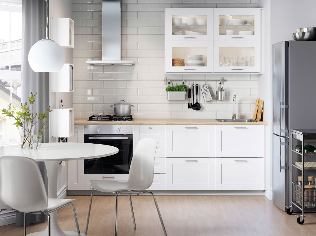 Ikea kitchen shaker cabinets centennial real estate blog - Best roi home improvements ...