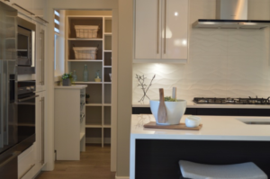 nine home decor trends out in 2019 all white kitchen slim range hood