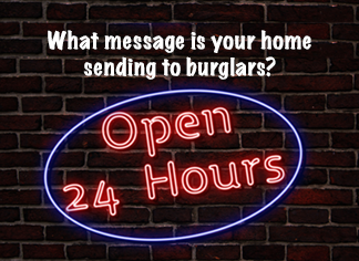 what message is your home sending to burglars property crime