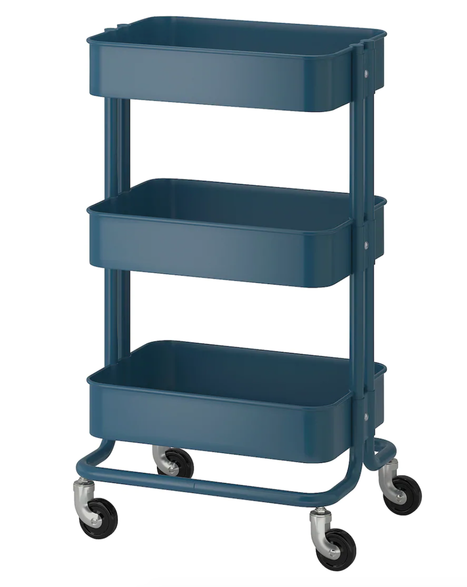 rolling cart coffee station home comfort
