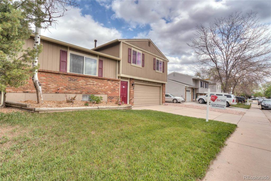 9025 W Bellwood Pl Denver exterior front new listing